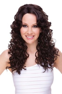 Tyra Synthetic Long Wig by Sepia. Color Shown  4 30. 57d697901a2a