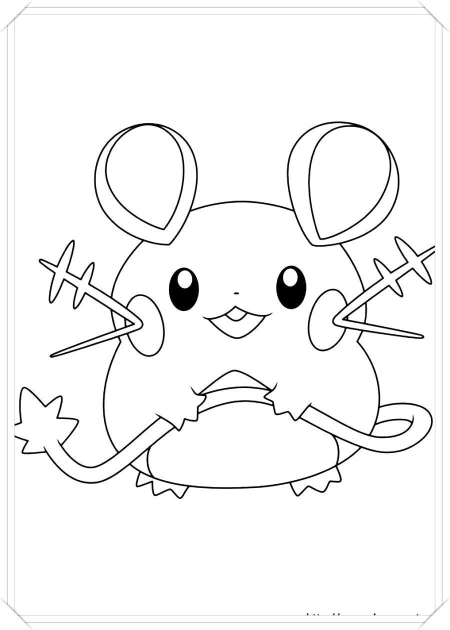 Los Mas Lindos Dibujos De Pokemon Para Colorear Y Pintar A Todo Color Imagenes Prontas Para Descar Como Dibujar Un Pokemon Dibujos De Pokemon Colorear Pokemon