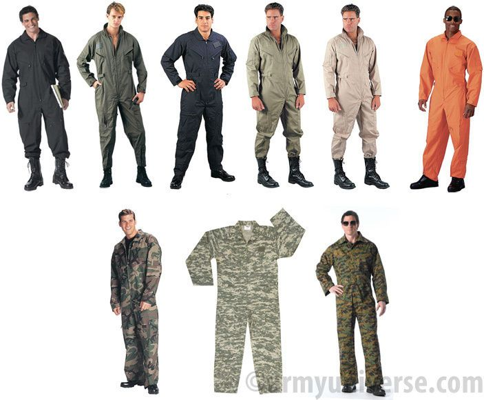 Military Camo Air Force Style Army Flight Suit Coveralls  0c6c4ede26d