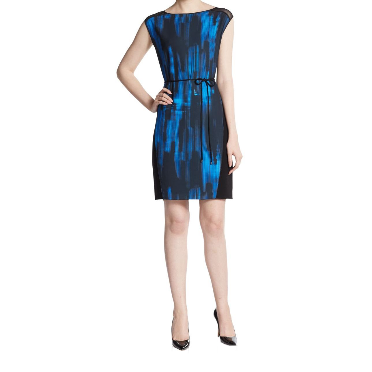 Elie Tahari Logan Women's Blue Dress