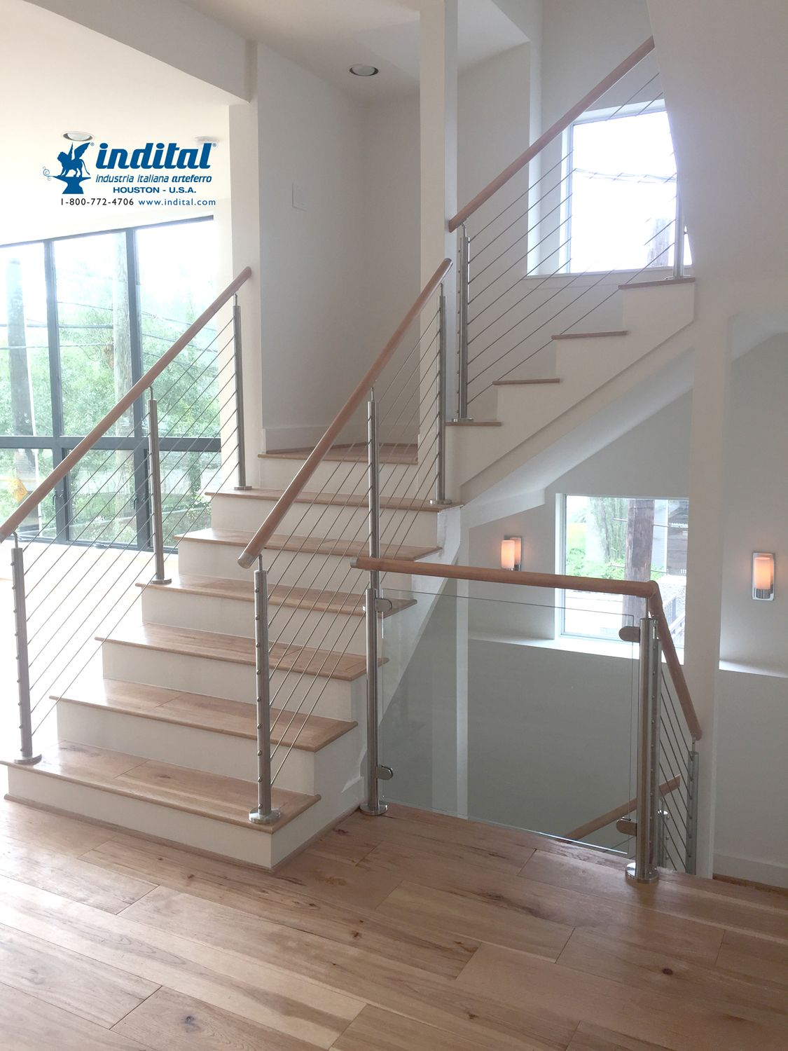 Best Our Stainless Steel Pre Drilled Newels Handrail Supports 400 x 300