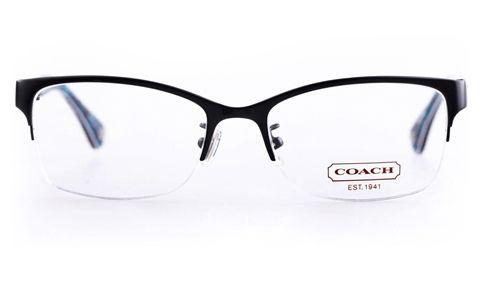 f84c007314 Coach HC5038 Acetate Womens Cat eye Semi-rimless Optical Glasses ...