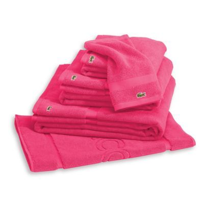 Lacoste Court Washcloth Lacoste Towel Hand Towels