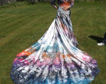 Tie Dye Wedding Dress Google Search Tie Dye Wedding Dress Dip