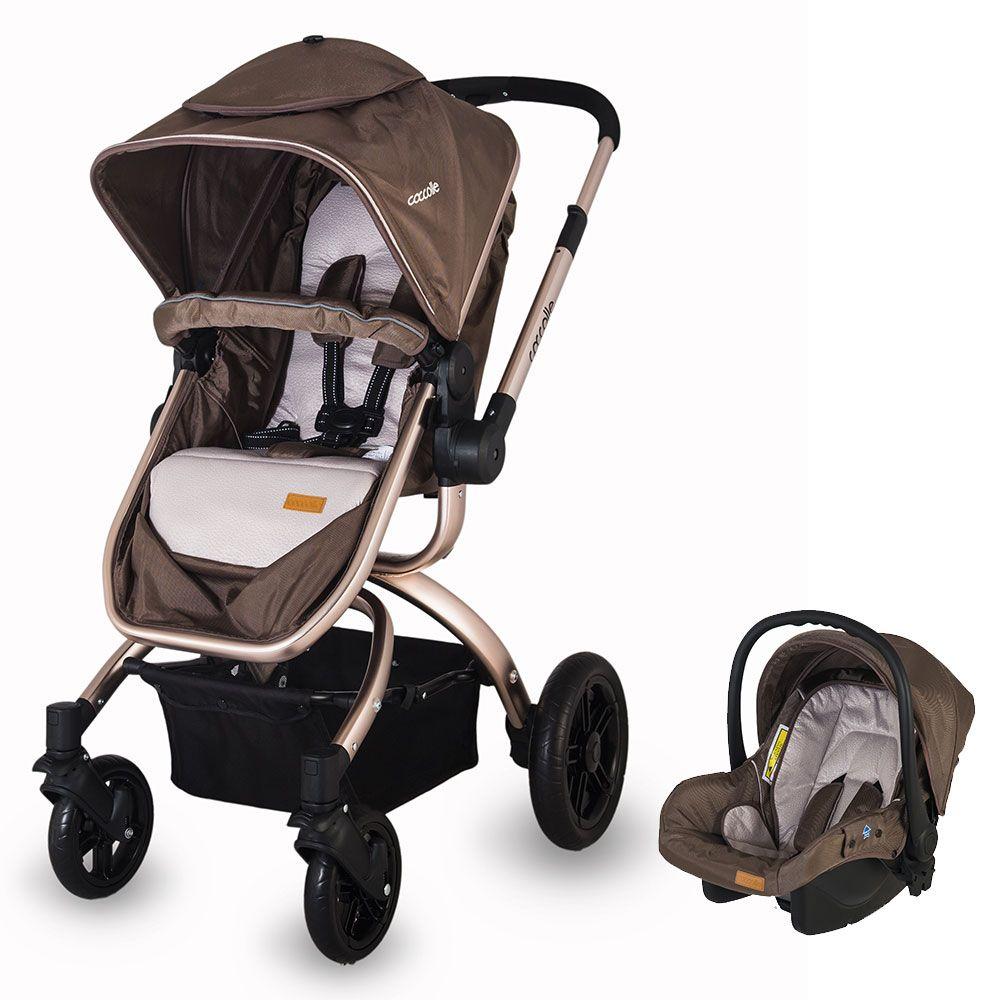 Passeggino trio Oro colore marrone😍 Passeggini, Infanti