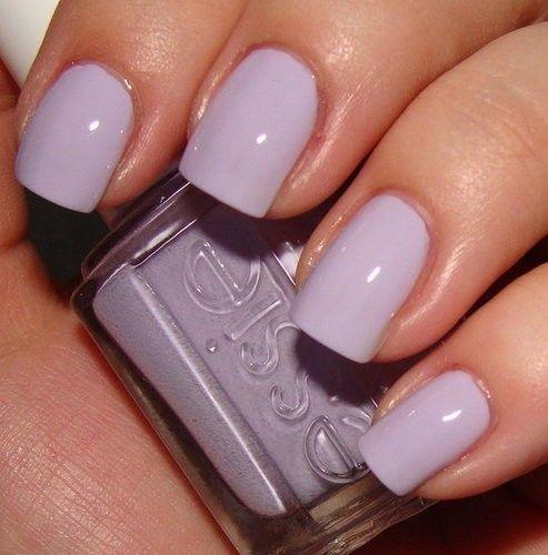 Lilac Nail Color: HAIR & MAKEUP