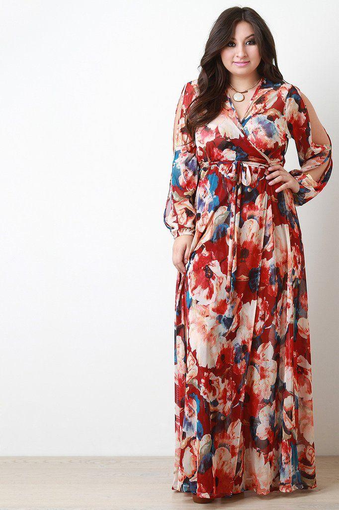 G stage plus size dresses kimono