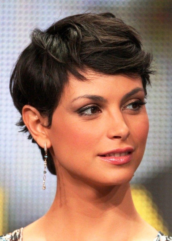 Morena Baccarin Pixie Hair 732x1024 Jpg 732 1024 Celebrity Short Hair Short Hair Styles Women Pixie Haircut