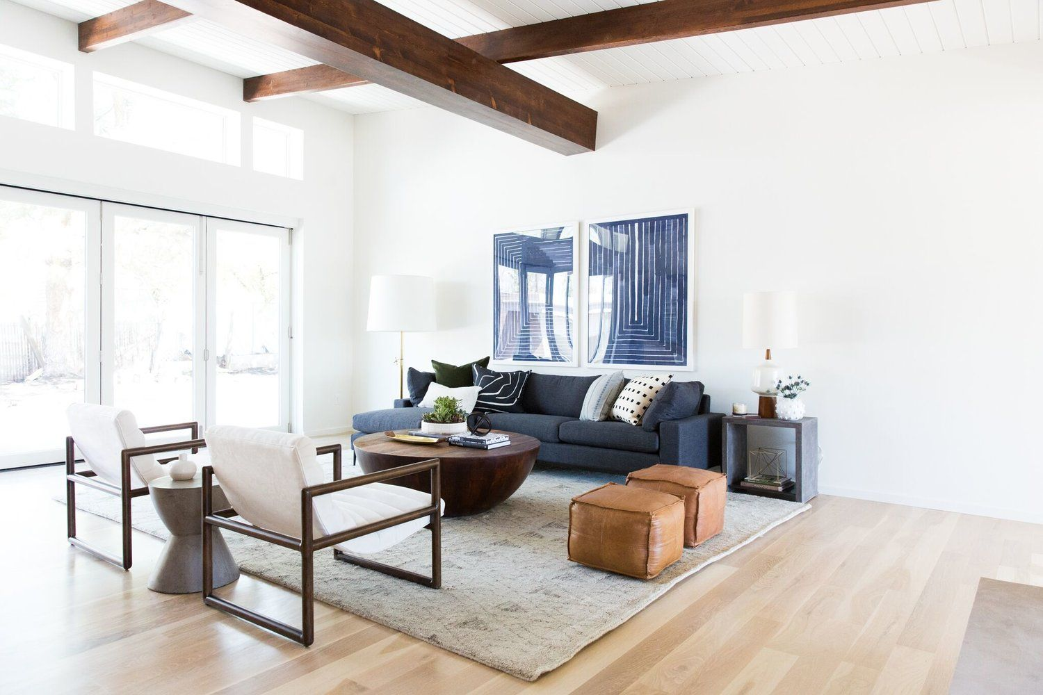 Best Mid Century Modern Project Reveal Formal Living Rooms 400 x 300