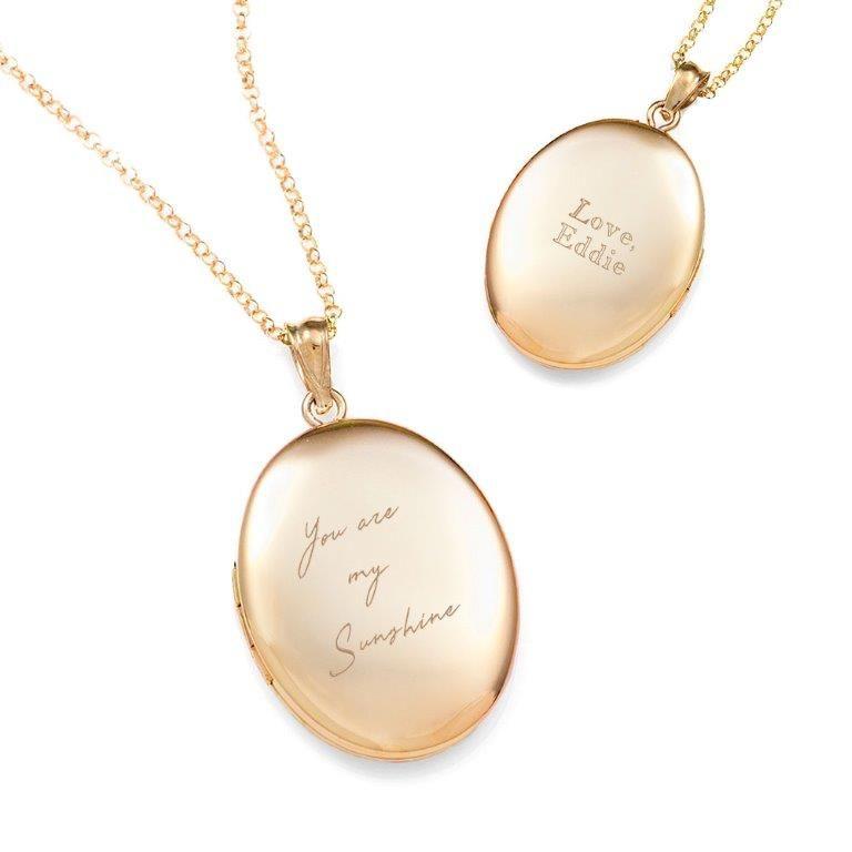 brilliant gold engraved handwriting