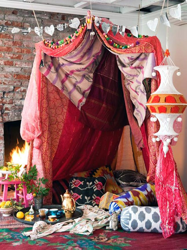 meditation decorating ideas 10 dreamy diy tents forts and teepees via brit co to diy
