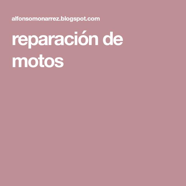 Reparación De Motos Mecanica De Motos Reparacion Y Mantenimiento Reparación