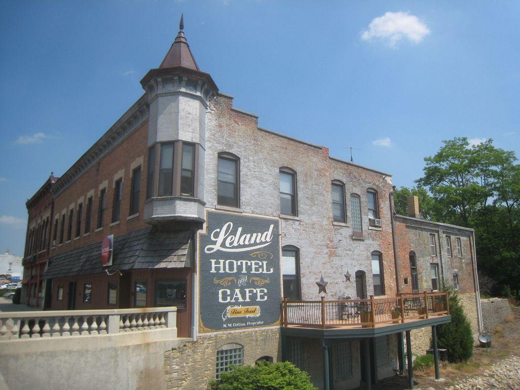 Leland Hotel Cafe Belvidere