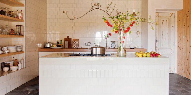 Revêtement mural pour la cuisine  lequel choisir ? Country houses