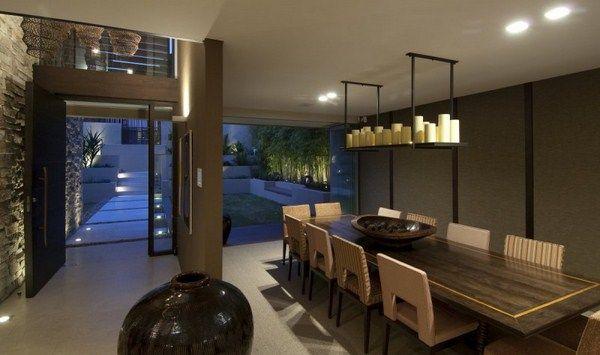 Moderne luxus esszimmer  Luxus Vaucluse Haus - Luxus Esszimmer | Ideen rund ums Haus ...