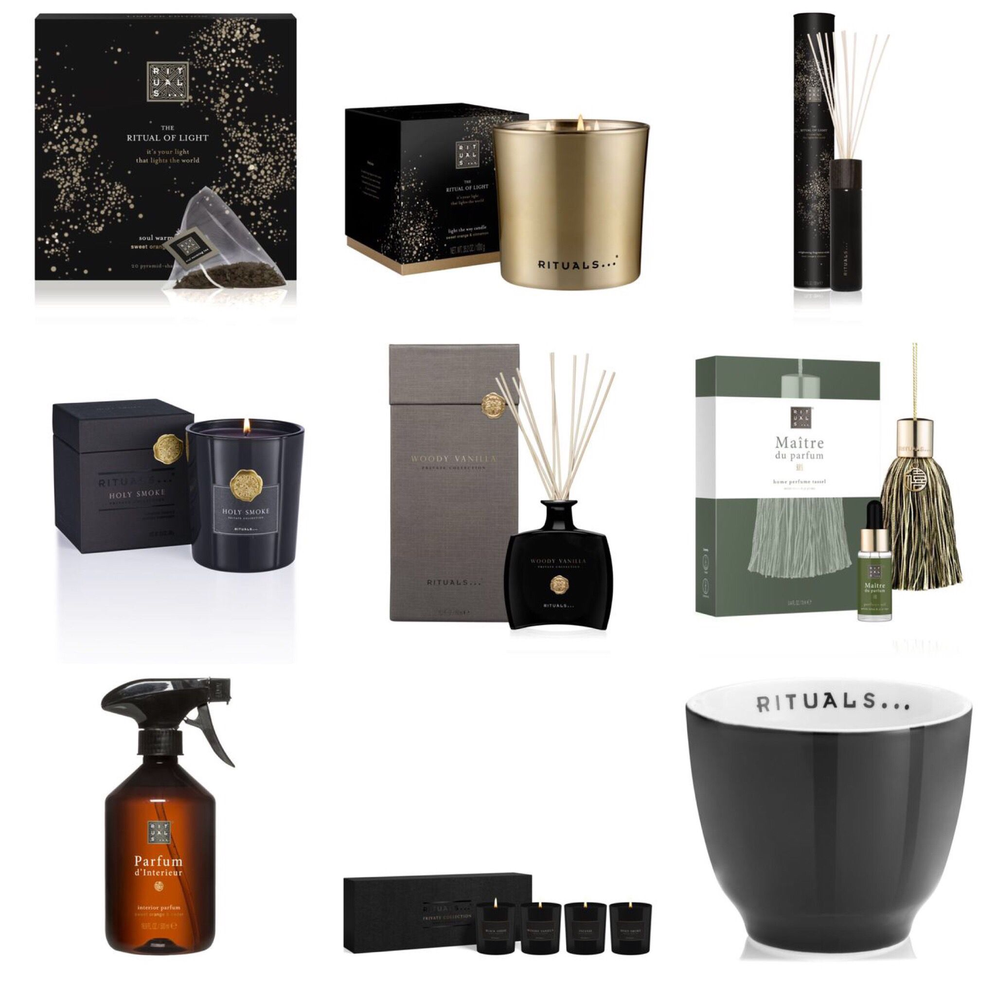 Parfum D'intérieur Rituals Home Collection Of Rituals Love The Private Candles The