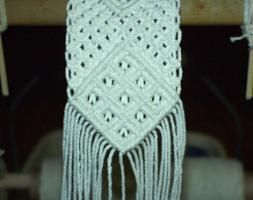Macrame Belt Ten Square