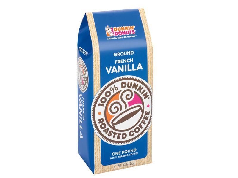 Dunkin donuts one pound french vanilla ground coffee
