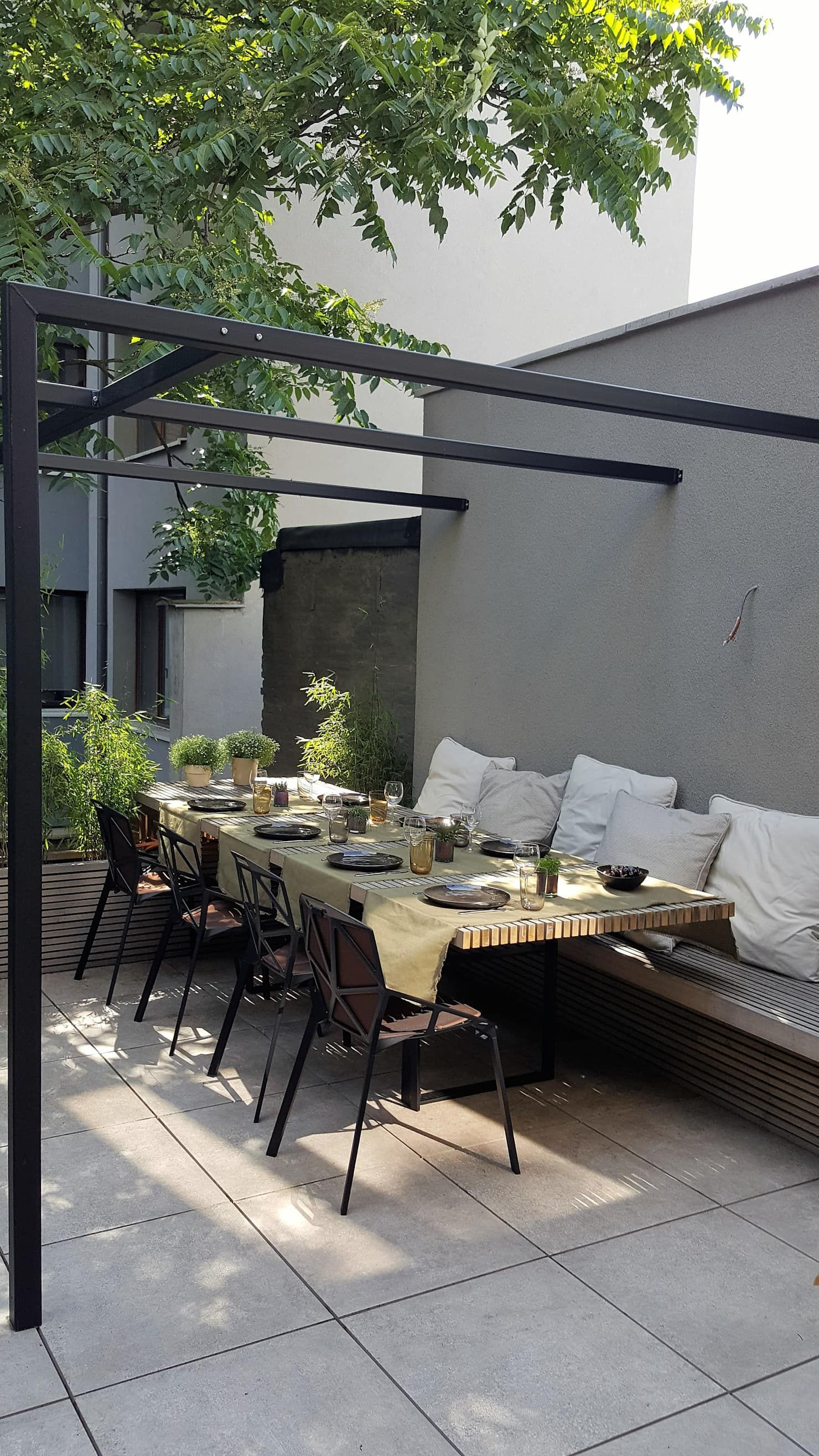 Photo of Neues Konzept Stadtterrassen minimalistische Balkone, Veranda en terrassen van lento Innenräume minimalistisch | homifizieren