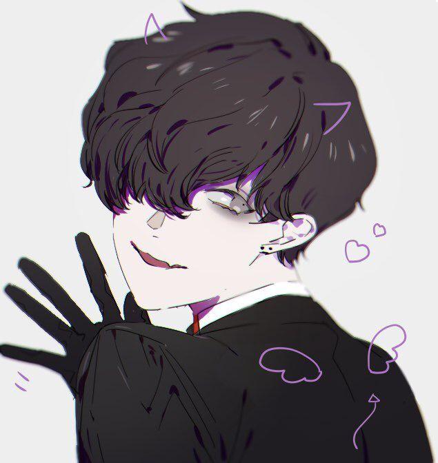 30+ Trends Ideas Cute Dark Aesthetic Anime Boy - Ring's Art