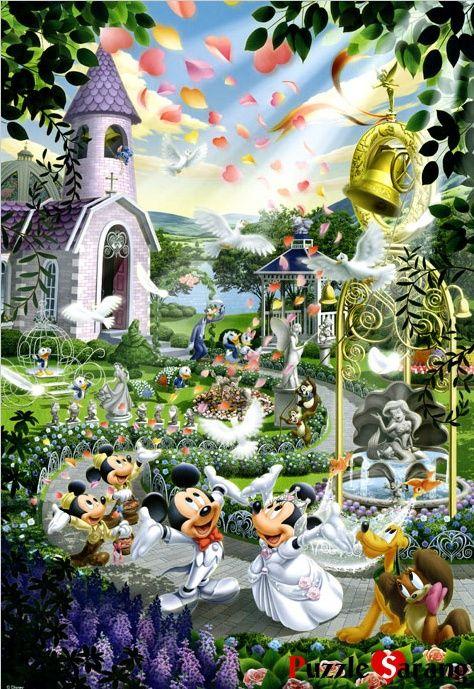 """Tenyo: """"Mickey's Wedding"""" 1000pcs"""