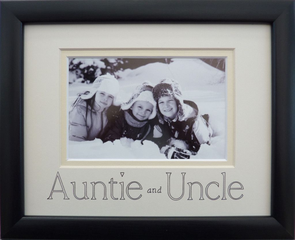 Perfect to add photo of nephews / nieces for Auntie and Uncle ...