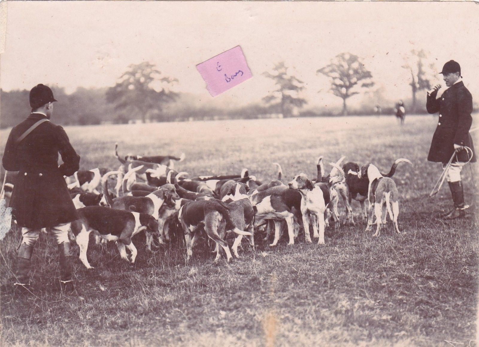 Https Www Ebay Co Uk Itm Old Photo Leicester Quorn Hunt Men Fox
