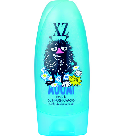 Muumi shamppoot ja suihku tuotteet