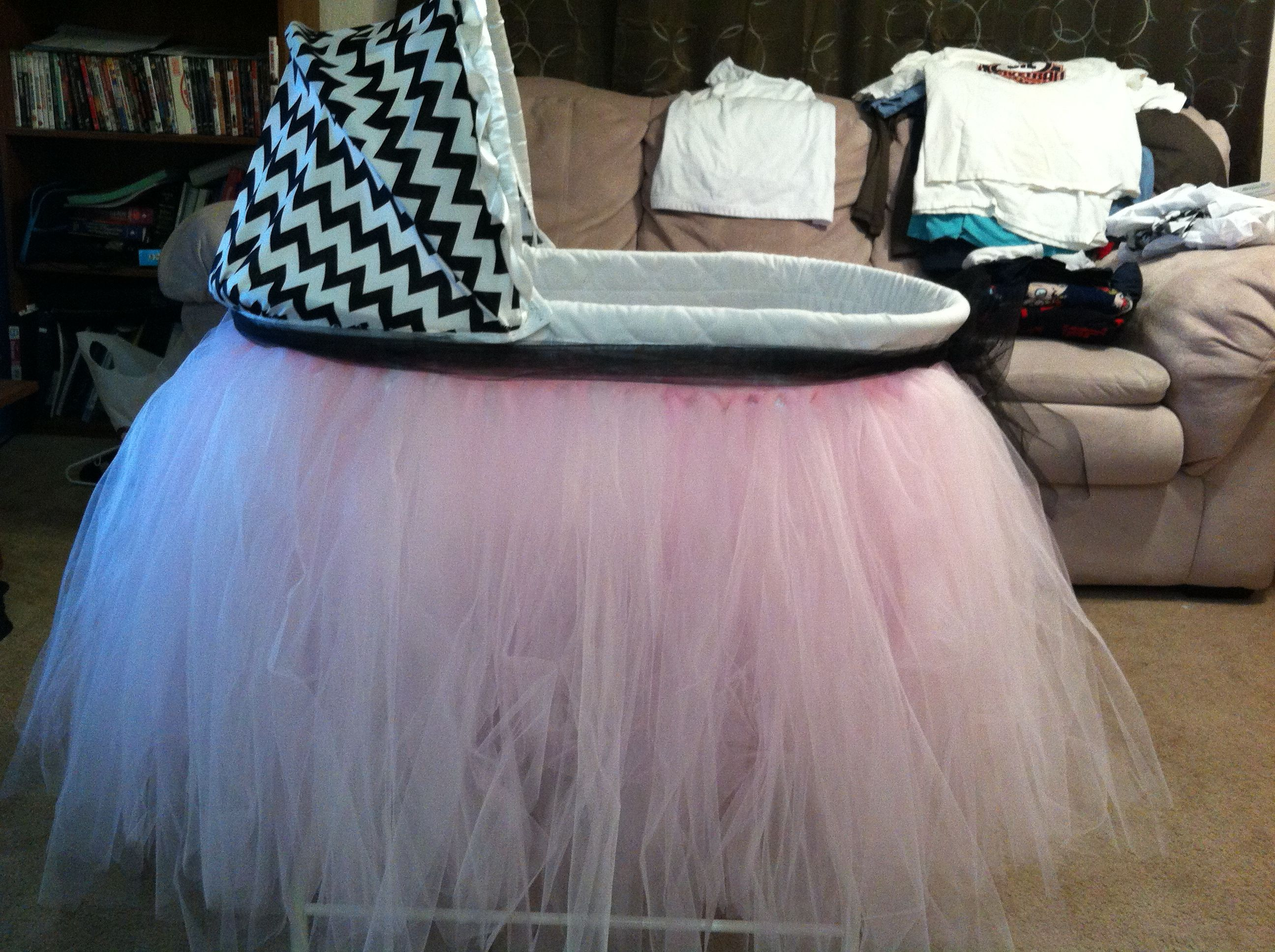 Baby E\'s bassinet redo! | Baby products | Pinterest