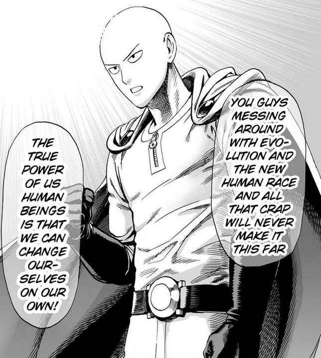 One Punch Man Hero Quotes - Google Search