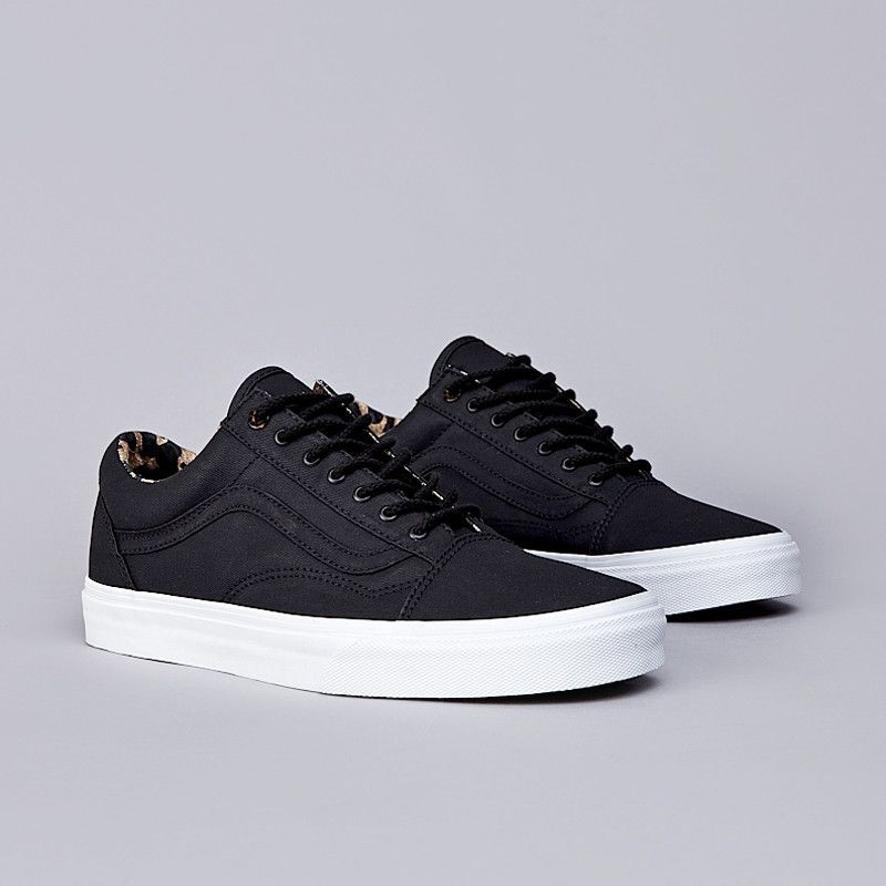 Flatspot Vans Old Skool Reissue CA (Coated Twill) Black
