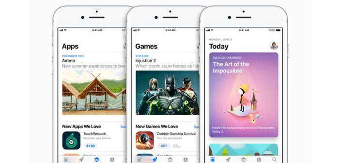 Apple révèle une nouvelle interface pour l' App Store : éditorial et webdesign