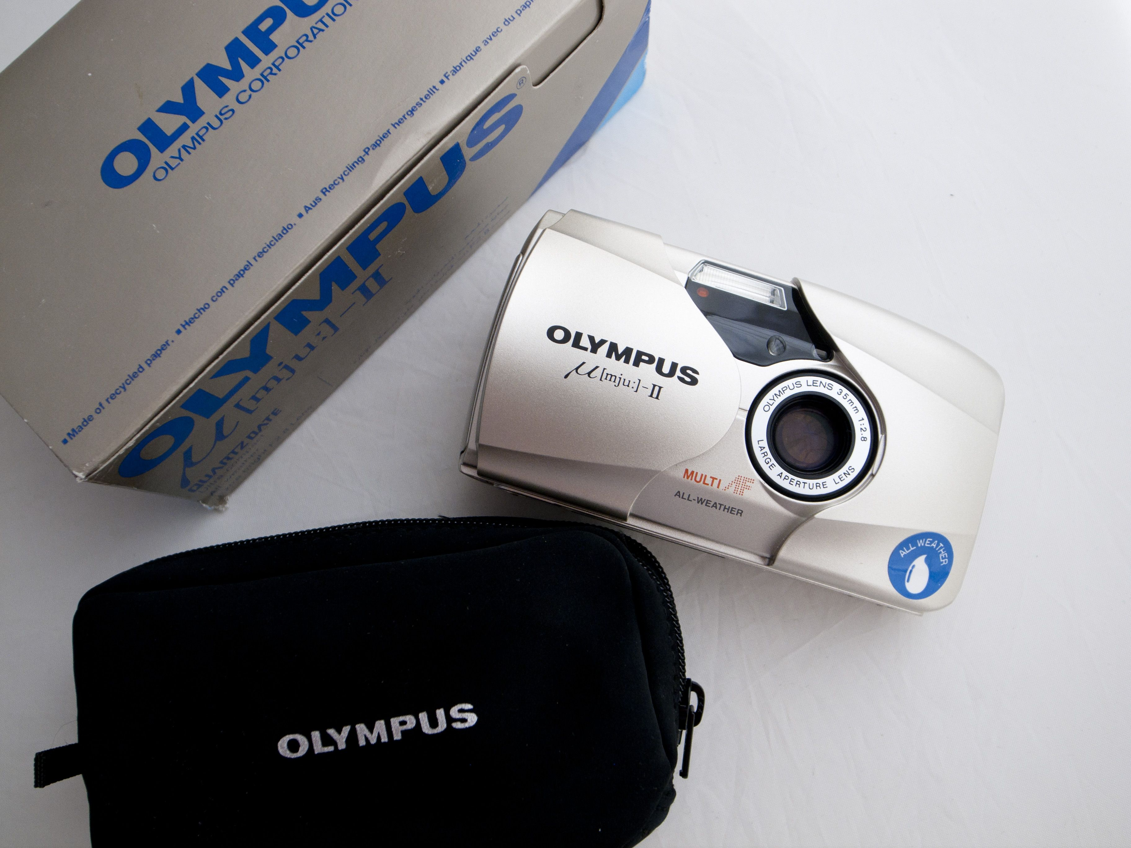 The first camera in my life, sweet memory.