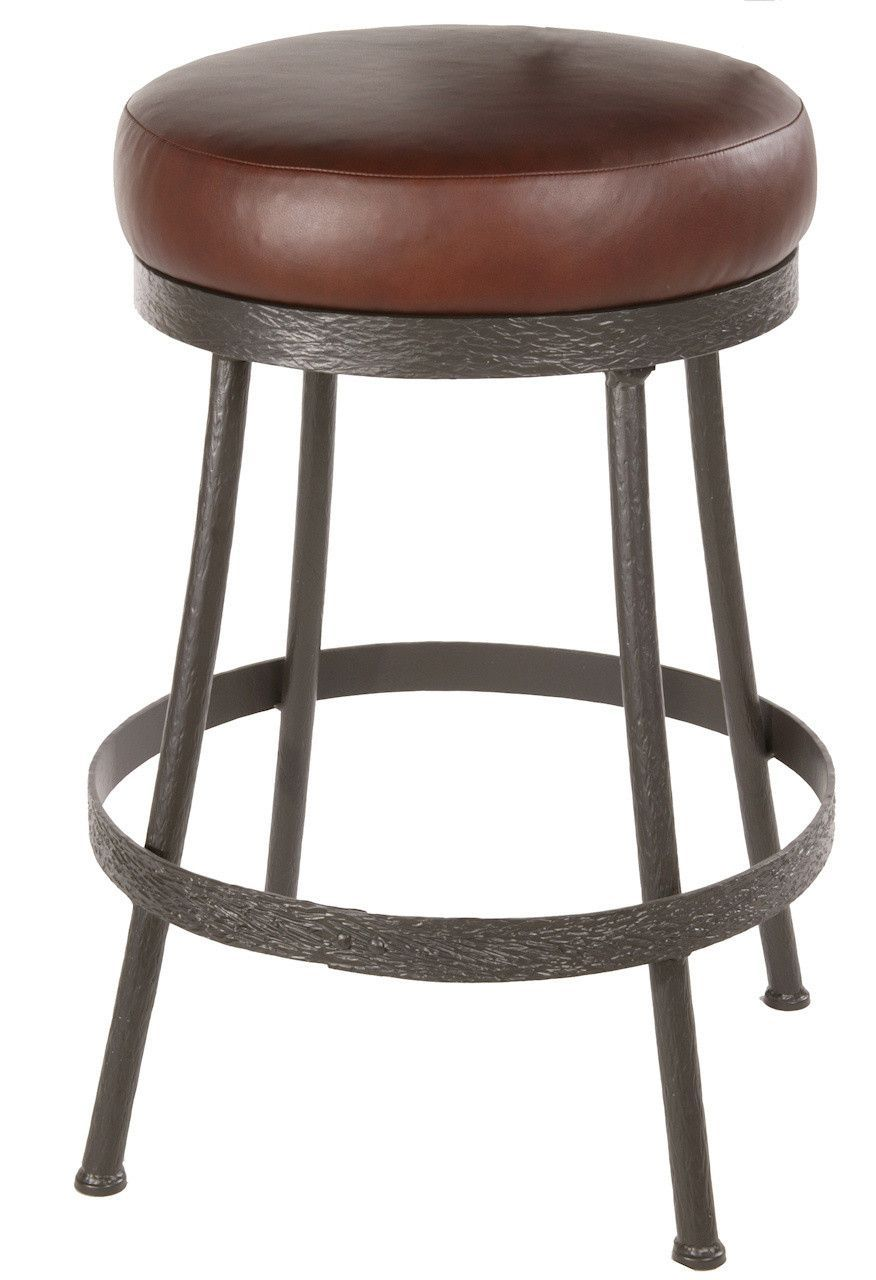 Stone County Ironworks 904 461 Lpc Cedarvale Barstool No Back 25 With Swivel