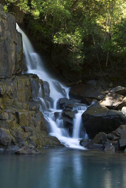 Canvas Print-blurred motion, clear water, day, drakensberg, green, kwazulu natal province, landscape-20