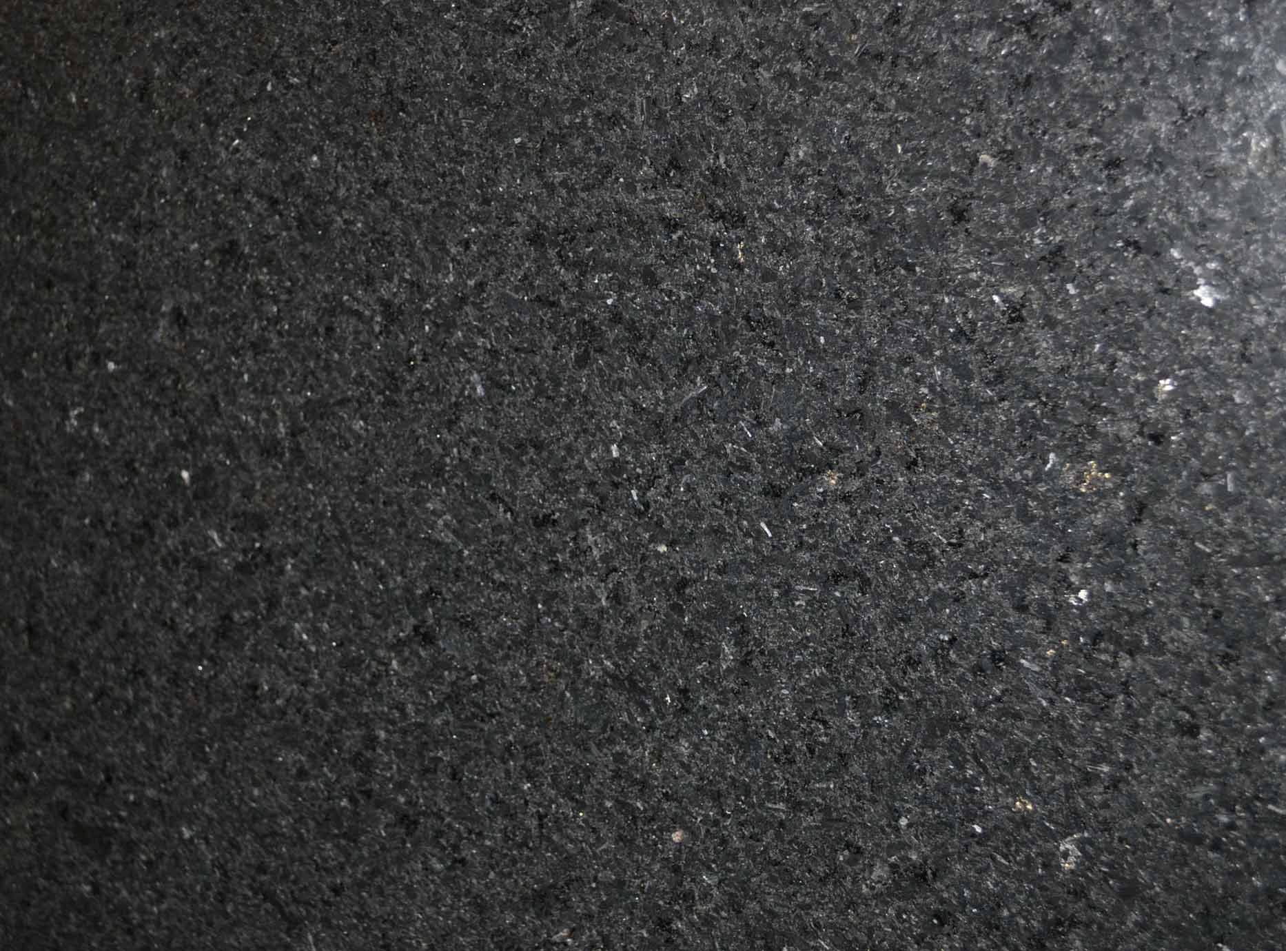 St. Gabriel black leather granite