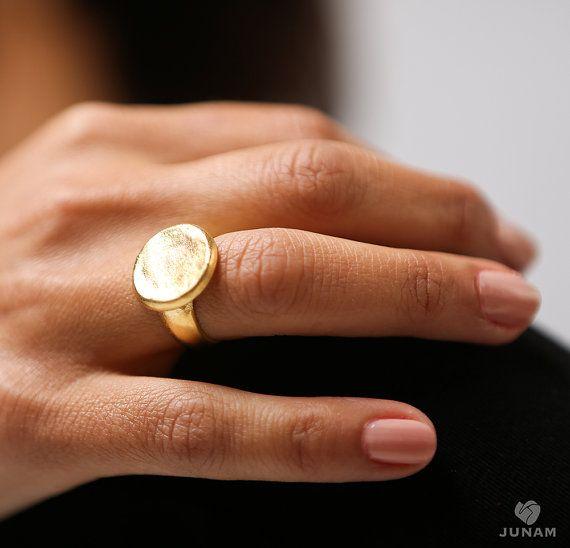 Gouden ring 18k