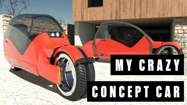 I Designed A Crazy Car At Cadillac That Split Into Two Motorcycles