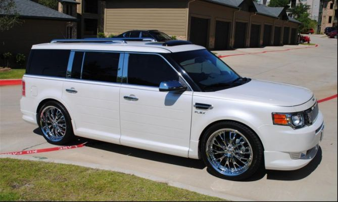 2009 Ford Flex Custom Ford Flex Suv Ford
