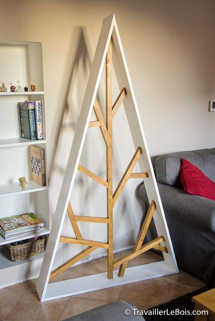 un sapin de no l design en bois instructions de montage. Black Bedroom Furniture Sets. Home Design Ideas