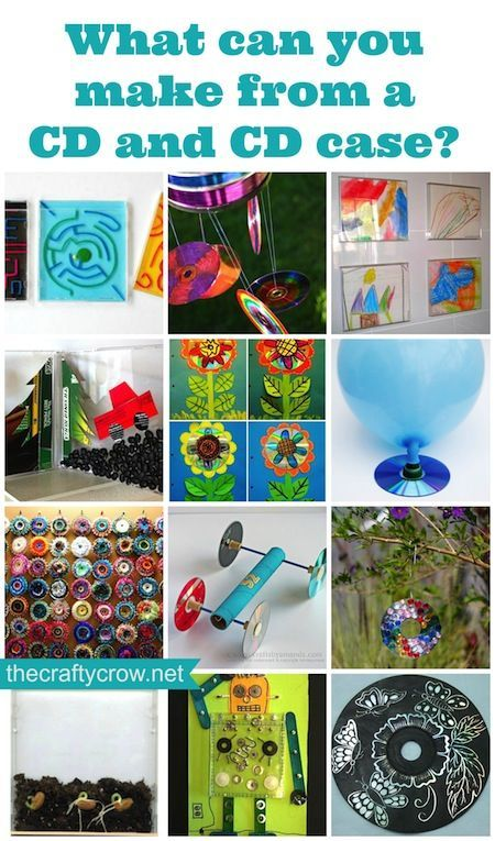 DIY Crafts 20 Ways to Recycle CD Cases! - Crafting a Green World