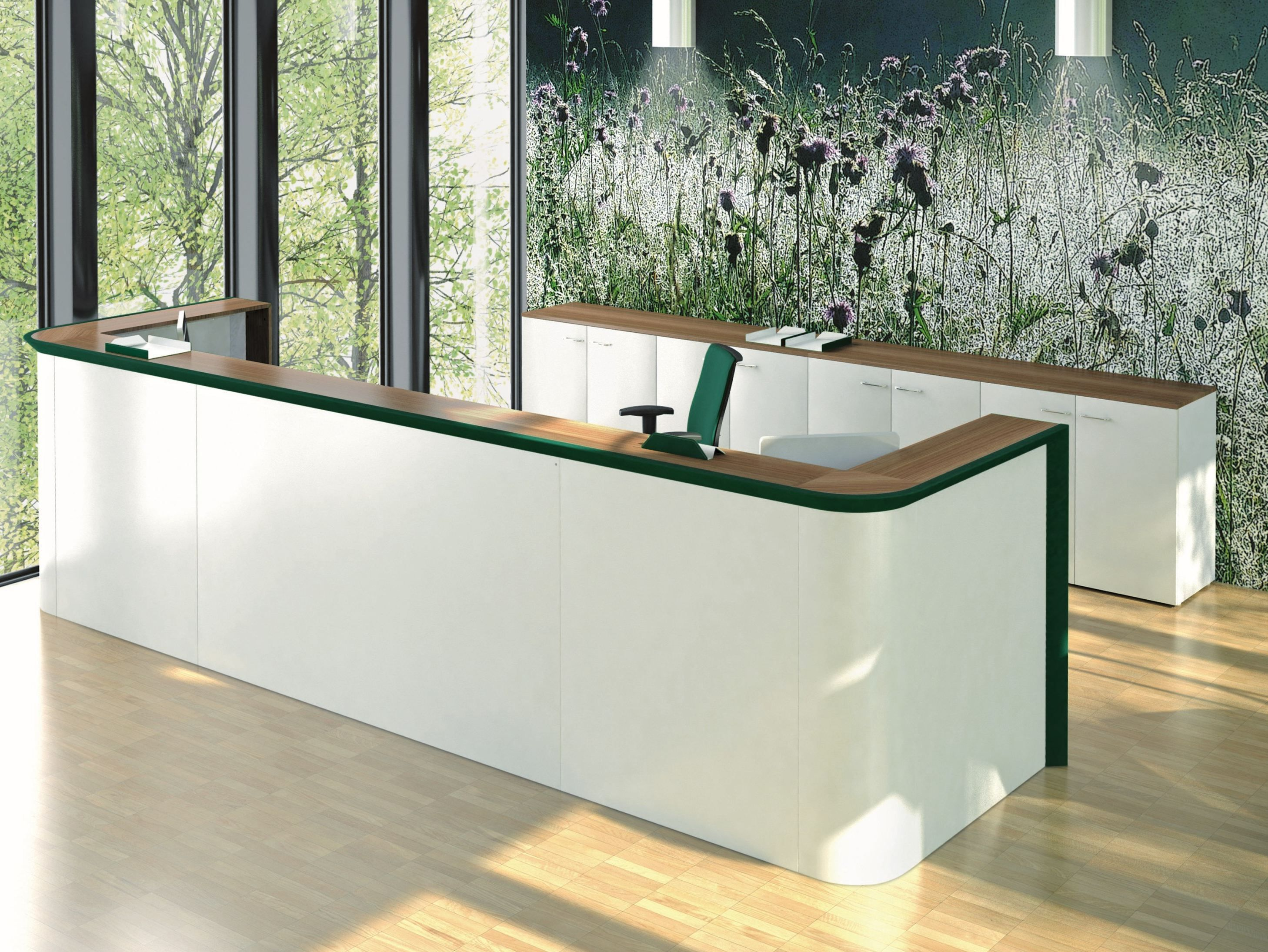 Wooden Reception Desk Wooden Reception Desk Ciao Collection By