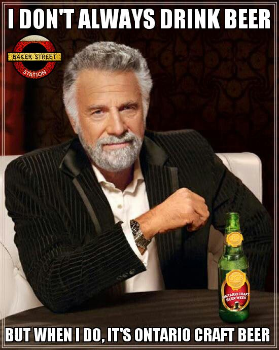 The Most Interesting Man In The World #OCBWeek2012 style!