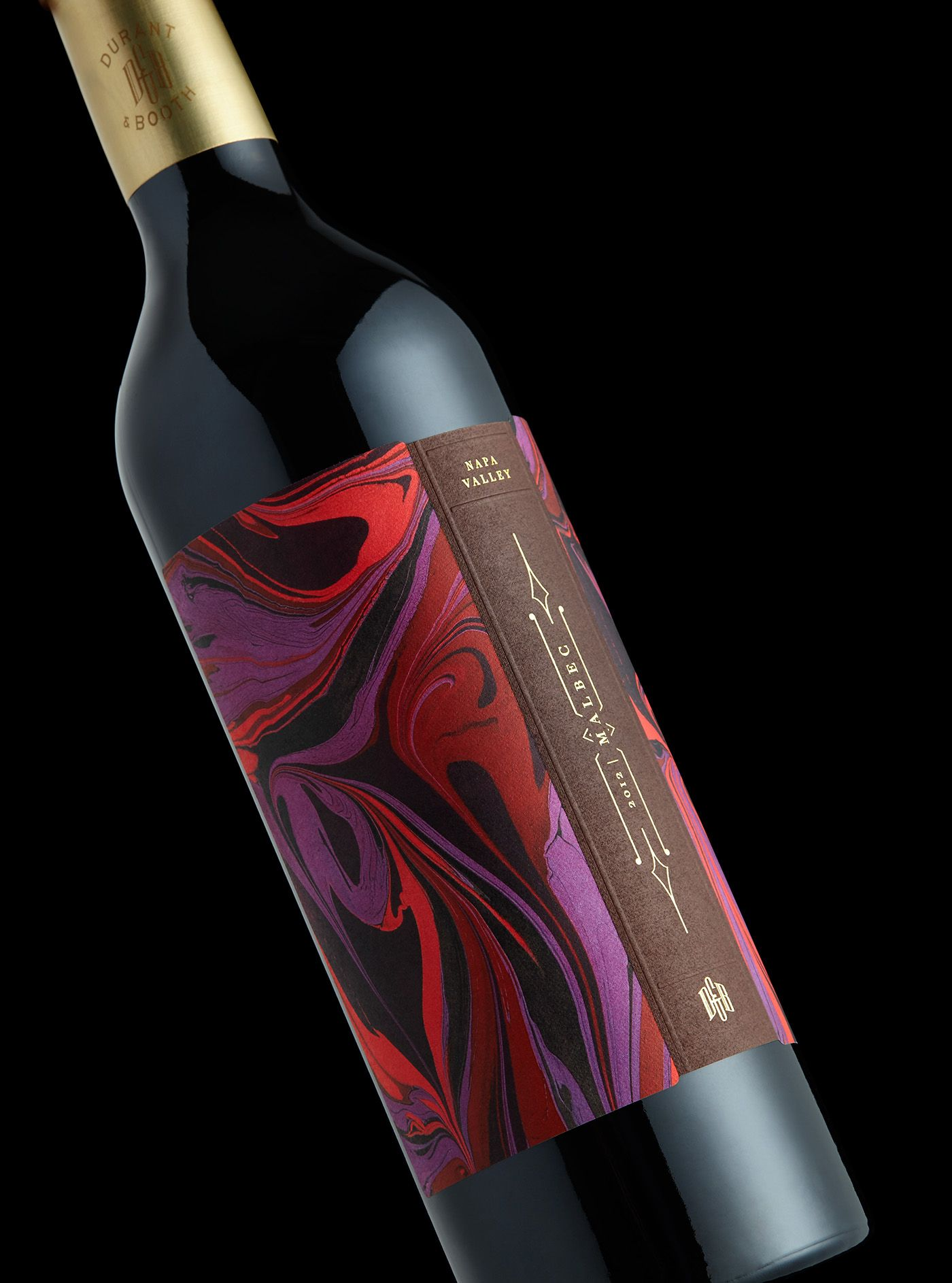 Durant Booth On Behance Wine Packaging Design Wine Packaging Wine Label Design