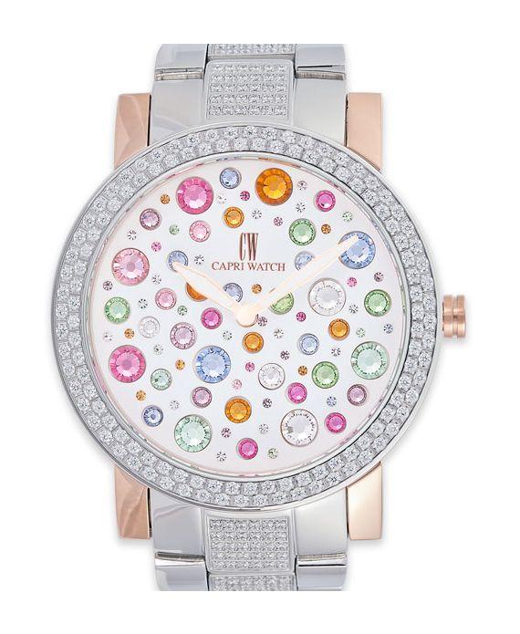 Eleganti e raffinati, gli orologi Capri Watch, rappresentano una classica alternativa alla semplicità. Basici ma con una cascata di colore in brillantini.http://www.sfilate.it/231177/orologi-capri-watch-cascata-brillanti-arcobaleno