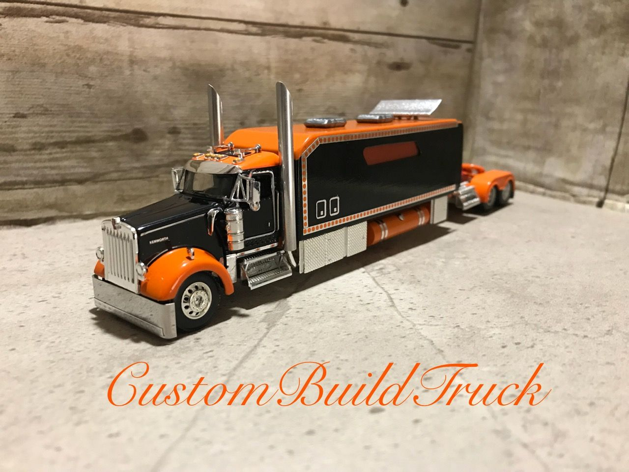 Pin By Ray On Custom Model Cabover Model Truck Kits Big