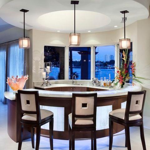 Contemporary Bar Home Design Ideas  Photos (Home) Bar and
