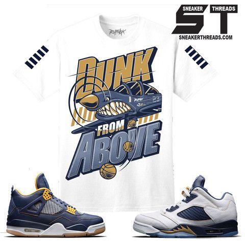 9279566d54e20a ... Shirts match Jordan 5 dunk from above retro 4 sneaker tees. ...