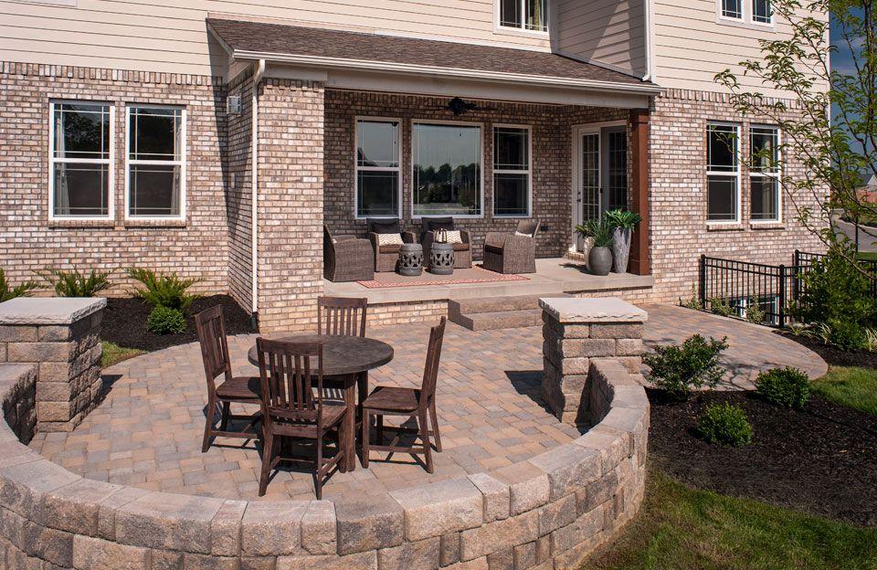 Outdoor Living Space Rowan Model Floor Plan Indianapolis