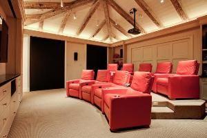 Attic Media Room Home Home Decor Attic Media Room